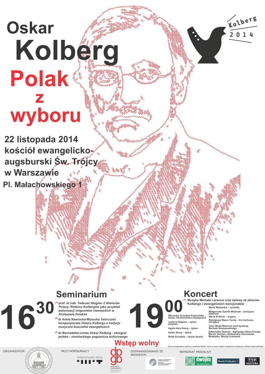 Plakat Kolberg zmniejszony