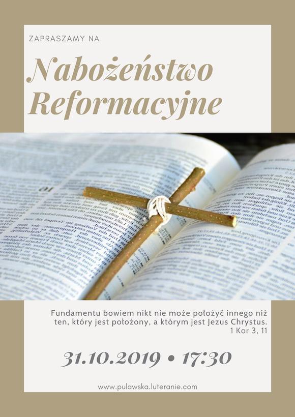 Nabożeństwo Reformacyjne