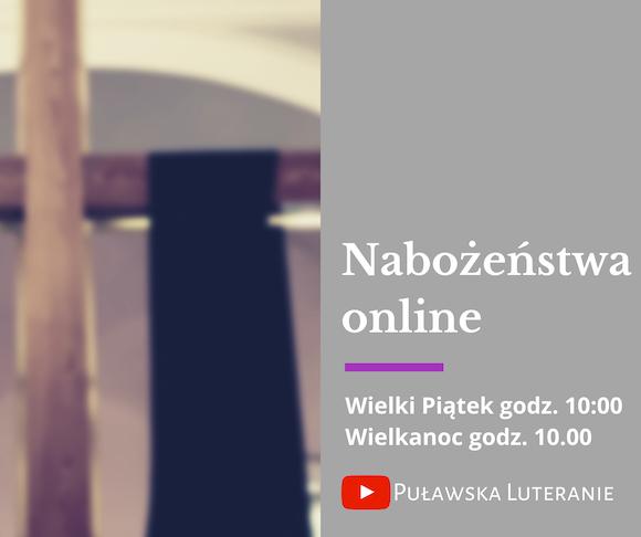 Nabożeństwa online święta