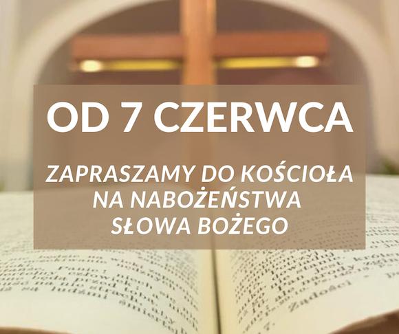 Nabożeństwa wracają (3)